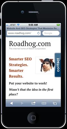 Responsive Web Design - RADX Corporation - Plano TX